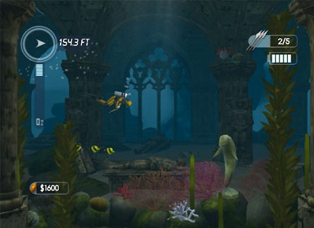 nsidr / Review: Dive: The Medes Island Secret (WiiWare)